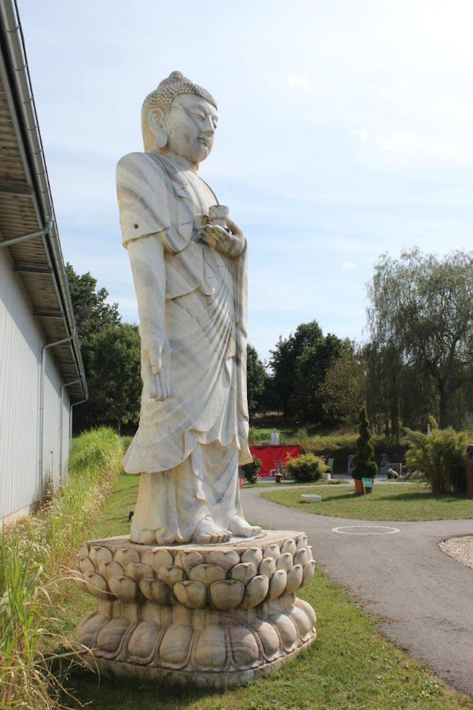 550cm marmor stein buddha wei gro tempel garten - Buddha fur garten ...