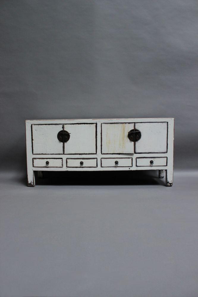 Commode ancienne style asiatique en bois massif chine ebay for Commode style asiatique