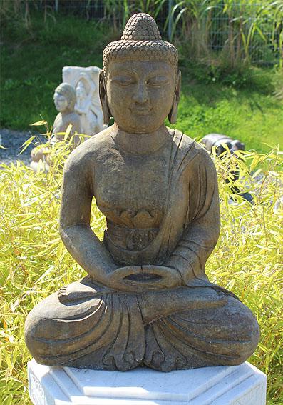 amitabha buddha statue granit naturstein stein tibet china asien figur garten ebay. Black Bedroom Furniture Sets. Home Design Ideas